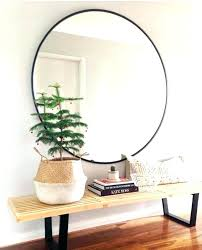 round mirror wood frame wall mirrors black round wall mirror large round mirror wood pertaining to large round reclaimed wood mirror frame diy
