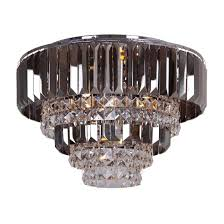 debenhams home collection mila flush ceiling light chandelier glass crystal 1 of 1only 0 available see more