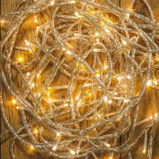120 warm white led multi function clear outdoor fairy lights