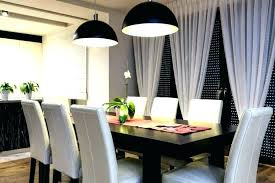 Modern Dining Room Ideas Curtain Curtains Decent For Qualified 9