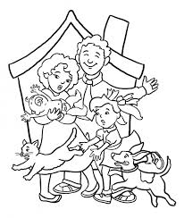 Small Picture Adult coloring pages family Family Picture Coloring Page Az