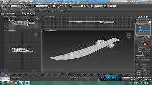 3ds Max Game Design Joshua James Game Design 3ds Max First Model Sword