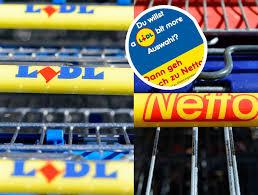 Lidl Provoziert Netto Und Der Supermarkt Reagiert Mit Diesem