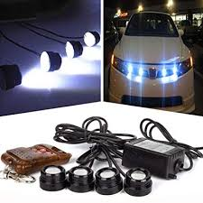 Strobe Lights For Cars Delectable Amazon Tuscom 60in60 602V Hawkeye LED Car Emergency Strobe Lights