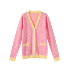 2019 <b>Autumn New</b> Women <b>Sweaters</b> Pink Long Sleeved <b>Sweater</b> ...
