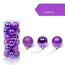 Purple Balls For Decoration Stunning Amazon Longay 32pc Xmas Party Festival Balls Hanging Decor
