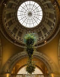 sweet dale chihulys v a rotunda chandelier