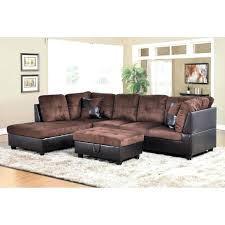 golden coast furniture 3 piece microfiber leather sofa sectional with ottoman storage couch and chair 3 piece sectional sofa