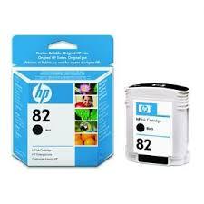 <b>HP 82 Designjet Black</b> Ink Cartridge - CH565A