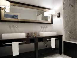 bathroom double vanity.  Vanity Transitional Gray And Black Double Vanity Bathroom Throughout N