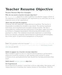 Sample Resumes For Teaching Positions Cheap Resume Elementary Amazing Resume For Teaching Position
