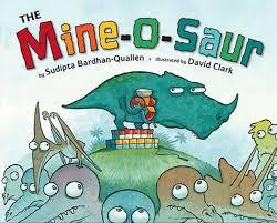 the mine o saur children s book that teaches values such as generosity