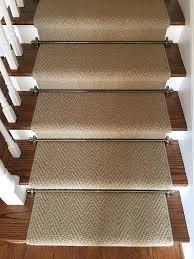 karastan stair runner cobble stone one room challenge