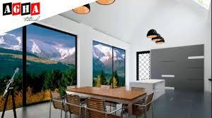 3D Max Creative Modern Interior Design Modeling Tutorial + Photoshop 2016 -  YouTube