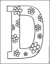 Letter D Coloring Page | Coloring Pages ♥ Mommy Scene | Pinterest ...