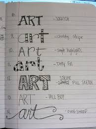 best different writing styles ideas writing  i should make a catalog of different hand lettering styles as a reference for when i m doing scrapbooking art