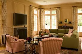 Family Room Living Room Magnificent The Warm Palette And Plush Nofuss Seating In The Family Room Make