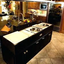 kitchen island ideas with sink. Delighful Ideas Two Sinks In Kitchen Island Ideas With Sink Awesome Best Images   And Dishwasher Prep On Kitchen Island Ideas With Sink I