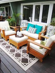 Inspired sunbrella replacement cushions in Deck Contemporary with