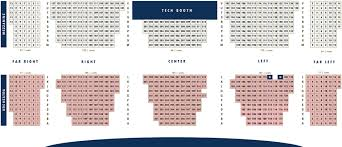 Seating Charts Kean Stage