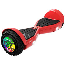 Gotrax Hoverboard Red Light Jetson Rogue Hoverboard With Galaxy Light Up Wheels Red