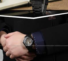 fashion western custom t winner leather strap men watch and men s watches