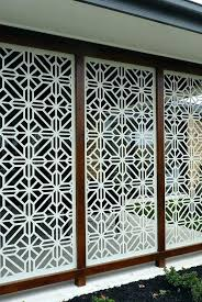 garden screen panels best patio screens decor images on landscaping decorative outdoor sun