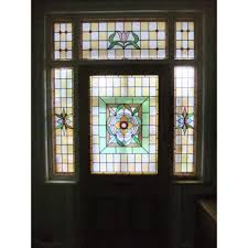 Front Doors Chic Front Door With Stained Glass Front Door Glass - Exterior door glass replacement