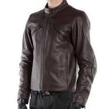 dainese prima72 leather jacket brown