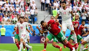 Resultado de imagen de marruecos vs iran