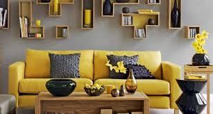21 stunning gray yellow living room