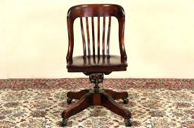 oak swivel desk chair parts desk swivel solid oak desk chair with arm parts delightful office