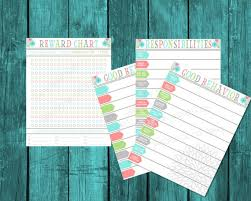 Davis Clip Chart Toddler Behavior Chart Reward Chart Consequence Chart Toddler Point System Responsibility Chart Printable Chart For Sticker Rewards