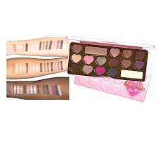 too faced i dream in chocolate makeup collection