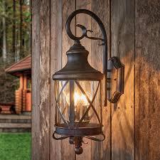 rustic outdoor wall light romantica 5515074 01