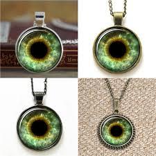 whole green eye asd13 third eye jewelry evil eye pendant necklace keyring bookmark cufflink earring bracelet fashion jewelry locket necklace from