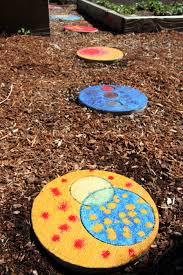 Diy Stepping Stones Colorful Garden Stepping Stones 5 Steps With Pictures