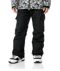 Grenade Snowboard Pants Size Chart Grenade Cargo 10k Black Mens Snowboard Pants Zumiez