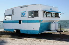 Black Hound Design Company 1950s Camper That Was Restored By Black Hound Design Company