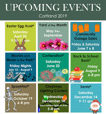 Upcoming Events Flyer Cortland Nebraska Official Site Welcome