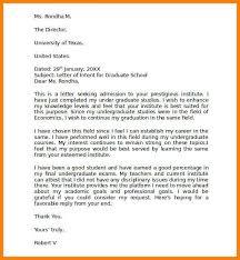 Intent Letter Sample For School 8 Graduate School Letter Of Intent Pear Tree Digital