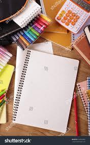 school desk background. Exellent Desk School Desk Background With Open Folded Notepad Copy Space Vertical  316655852 Inside Desk Background
