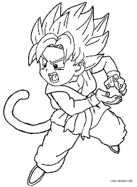dbz coloring pages dragon ball z book free