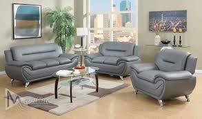 Grey Sofa Chair Napoli Gray Sofa 71357 Mainline Inc Leather Sofas At Comfycocom