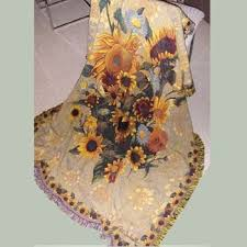 Sunflower Throw Blanket