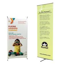 Retractable Display Stands Non Retractable Banner Stands Affordable Exhibit Display 89