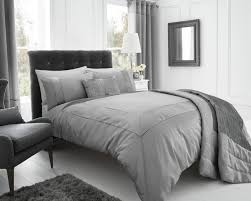 pearl duvet cover set super king size silver