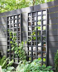 Small Picture DIY Mirrored Trellis with Benjamin Moores Regal Exterior