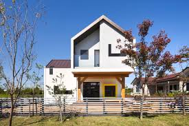 A Shaped House Design Modern T Shaped House In South Korea Idesignarch
