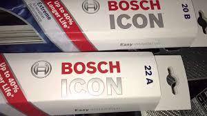 Bosch Icon Wiper Blade Chart Bosch Icon Wiper Blades Review Garage Sanctum